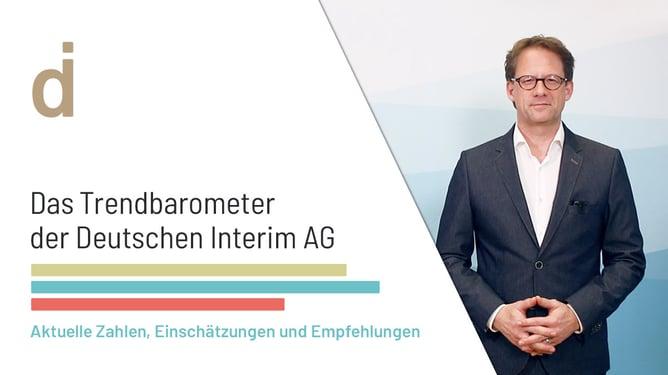 Videoblog - Trendbarometer - Deutsche Interim AG